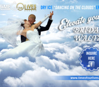 Elevate your bridal waltz to cloud 9: Dry Ice Machine Hire Sydney