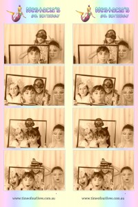 Kids Photo booth hire sydney. All age photo booth hire sydney. 8th birthday