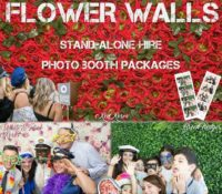 Sydney Flower Wall backdrop hire cheap