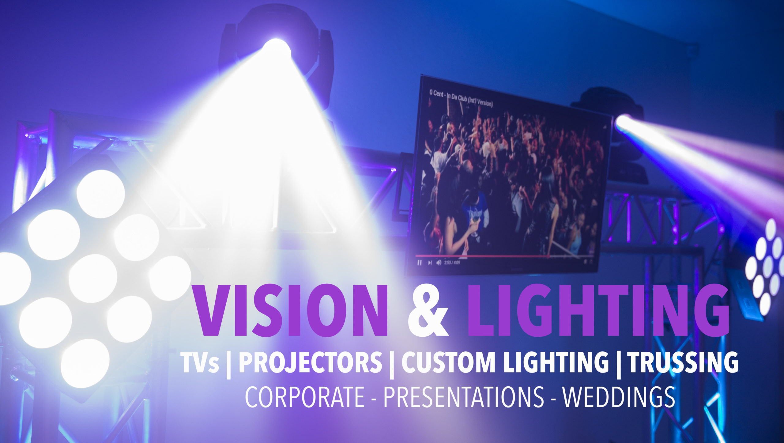 Vision and lighting hire sydney cheap